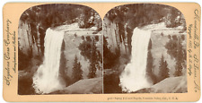 Stereo, Keystone View Company, B. L. Singley, Vernal Fall and Rapids, Yosemite V