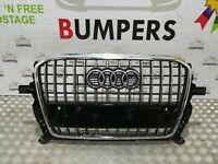 AUDI Q5 2012 - 2016 GENUINE S LINE FRONT BUMPER GRILL TRIM P/N: 8R0853651R