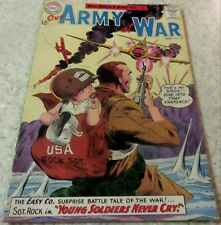 Our Army at War 132, (FN+ 6.5) 1963 Kubert art! 40% off Guide!