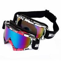 WOLFBIKE UV400 Protection Ski Snowboarding Skate Goggles Glasses Eyewear R1BO