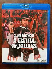 A Fistful of Dollars Blu-ray 1964 Spaghetti Western Movie Classic Region A