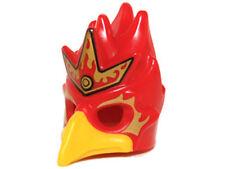 LEGO - Minifig, Headgear Mask Bird (Phoenix) w/ Yellow Beak & Gold Headpiece