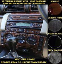 LAND ROVER FREELANDER L314 TD4 FACELIFT Dash Kit - Walnut - Carbon - Piano Black