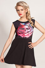 Cold Heart Skater Dress Rose Mortem size XL (UK 14) Pastel Goth Alternative
