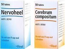 Heel Stress Recovery Kit ( Nervoheel & Cerebrum Compositum ) 2 x 50 tablets