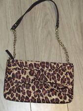 Kate Spade Leopard Print Bow Shoulder Evening Bag Excellent