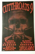 Cutthroats 9: Austin, 2002 Poster by Jared Connor (Mexican Chocolate)