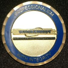 WACKENHUT SECURITY SERVICES COMPANY CHALLENGE COIN MEDAL TOKEN LIMITED NUMBER