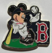 Disney Pin Mickey Major League Baseball Boston Red Sox
