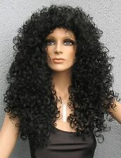 Diana Ross Look Löwenmähne ... unglaubliche lange Killer Curls - Perücke