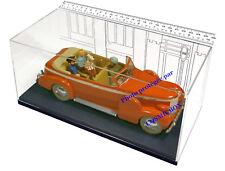 Voiture TINTIN au TIBET le taxi de New Delhi la CADILLAC FLEETWOOD figurine test