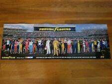 """Panoramic GOODYEAR NASCAR 2016 36 X 11.5"""" Original Poster"""