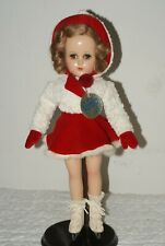 "STUNNING! All original 14"" Nancy Lee Skater Composition Doll"