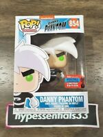 Funko POP! Nickelodeon Danny Phantom #854 NYCC 2020 Shared In Hand