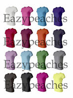 Bella - BRAND NEW Ladies Size S-XL, 2XL Baby Rib Crewneck Womens T-Shirts b1001