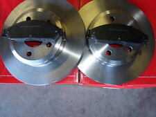 Ford BA BF including XR6 XR8 REAR Disc Brake Rotors AND PADS NEW SET