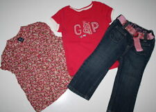 Baby Gap Lot Preppy Prints Logo Tops Jeans Set 18-24 M