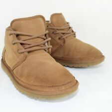 UGG AUSTRALIA Neumel Mens Leather Ankle Boots Size US 8