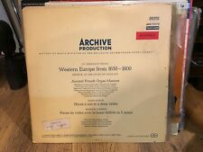Lot Of 2 Archive LP Records Western Europe From 1650-1750 And 1650-1800 NM