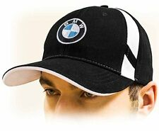 BMW baseball cap / BMW M Power unisex hat. Black. Adjustable size with ///M logo