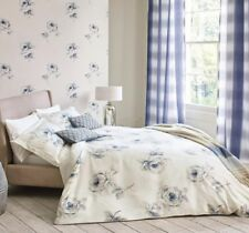 SANDERSON ROSA SINGLE DUVET COVER IN INDIGO RRP £75.00