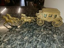 More details for brass horses and carriage