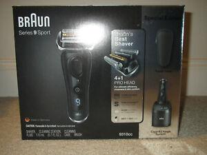 Braun Series 9 S9 SPORT EDITION electric shaver 32 BIT - Matte BLACK Color - NEW