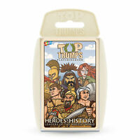 Top Trumps Heroes of History Card Game - Leaders of the Ancient World