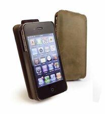 Étuis, housses et coques avec clip marron iPhone 4 pour téléphone mobile et assistant personnel (PDA)