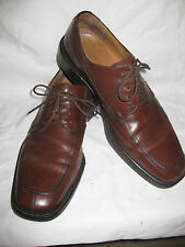 COACH Men's 12B Brown Made in Italy Oxfords Leather Casual Dress Shoes