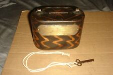 New ListingOld Bank W. F. Fowler M'F'G. Co. Pat. Apl'D For Faux Copper Swirl Working Key
