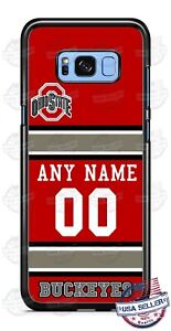 OHIO STATE BUCKEYES PHONE CASE COVER FOR iPHONE SAMSUNG GOOGLE etc NAME & No.