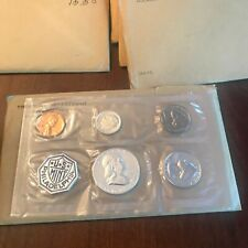 1962-P US Mint Silver  Proof Set in original govt packaging. 5 coins
