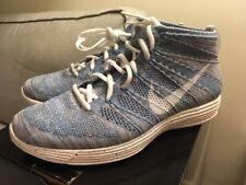 new style b3e7e c1e5b 2013 Vintage Nike Lunar Flyknit Chukka HTM SP Blue Glow Speckled Mens US  Size 11