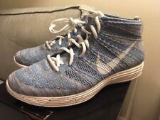 157a722795bd 2013 Vintage Nike Lunar Flyknit Chukka HTM SP Blue Glow Speckled Mens US  Size 11