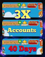 Big Raids, Coin Master. 40 DAYS  3 accounts. *Fast Delivery*