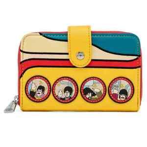 Loungefly Funko The Beatles Yellow Submarine Zip Around Wallet