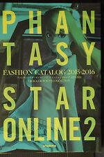 JAPAN Phantasy Star Online 2 Fashion Catalog 2015-2016 Oracle & Tokyo Collection
