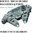 DEAGOSTINI BUILD THE STAR WARS MILLENNIUM FALCON - PARTS & MAGS - NEW & SEALED