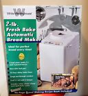 NEW White Westinghouse WWTR442 Bread Maker Machine 2 lb Loaf 96 Page Recipe Book photo