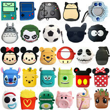 Cute 3D Cartoon AirPods Silicone Case Protective Cover for Apple AirPod 2 3 Pro