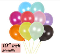 10-100,Pearl Mix LATEX BALLOON,10 inch Helium.Party,Birthday,Wedding,Christening