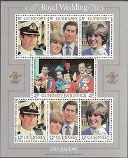 Guernsey 226A - Royal Wedding. Souvenir Sheet Of 9  MNH. OG.  #02 GUER226Ass
