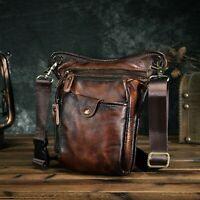 Genuine Leather Men Shoulder Bag Fashion Travel Design Casual Classic Handbag