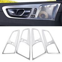 Interior Car Door Handle Bowl Frame Sticker Trim Cover For Volvo XC60 2018 2019