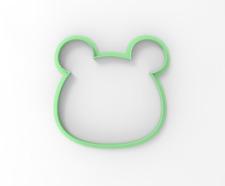 Bear cub Cookie and Fondant cutter 30166 ( Cute animals cake decoration )