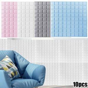 Foam 3D Tile Brick Ceiling Panel Wall Sticker Self Adhesive Water Resistance