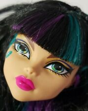 MONSTER HIGH DOLL CREEPATERIA CLEO DE NILE HEAD ONLY FOR REPLACEMENT OR OOAK