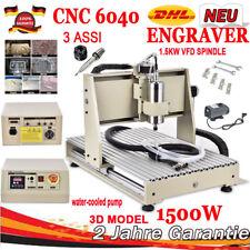 6040 CNC 3Achse Router Engraving Graviermaschine Graviergerät Fräsmaschine 1500W