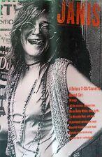 Rare Janis Joplin Classics 1993 Vintage Music Record Store Box Set Promo Poster